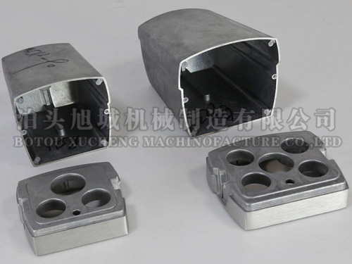 Cast aluminum camera housing