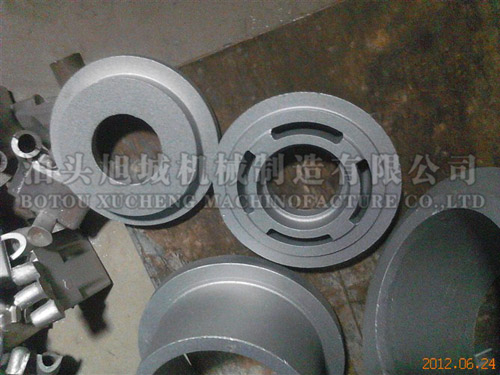 Cast aluminum pump parts